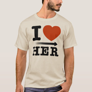 "Moleton ""Heart Her ""I T-Shirt"