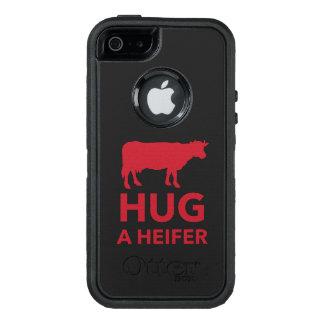 Molkerei-Umarmung eine Färse lustig OtterBox iPhone 5/5s/SE Hülle