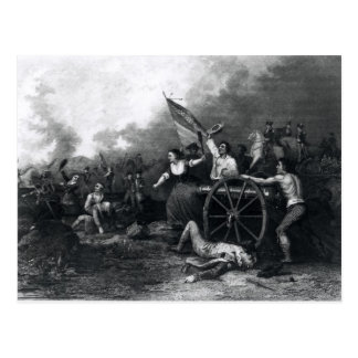Moll-Krug am Kampf von Monmouth Postkarte