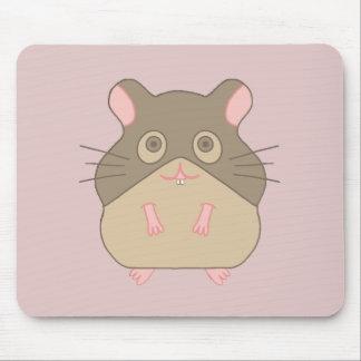 Molliger Hamster Mousepads
