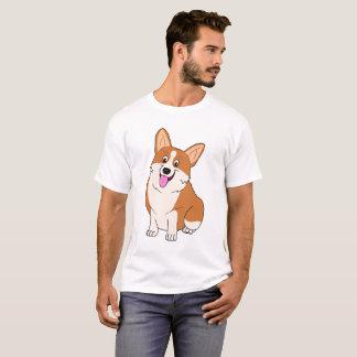 Molliger lächelnder WaliserCorgi T-Shirt