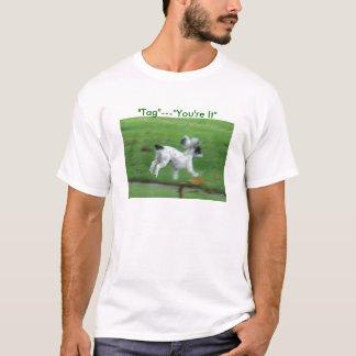 """Molly auf dem Lauf, """"Umbau""""---""""Sie sind es """" T-Shirt"""