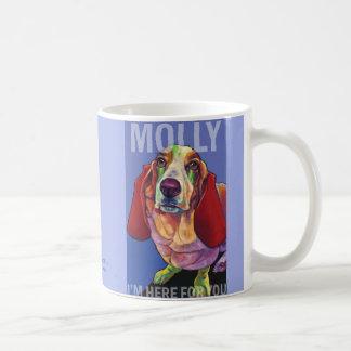 Molly die Dachshund-Therapie-HundeTasse durch Kaffeetasse