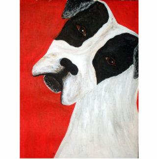 Molly-Hund Acryl Ausschnitte