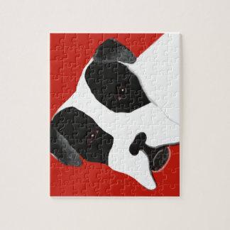 Molly-Hundebulldogge Puzzle