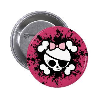 Molly platsch runder button 5,7 cm