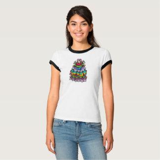 MollyAnnTabathas Blumen-Mädchen T-Shirt