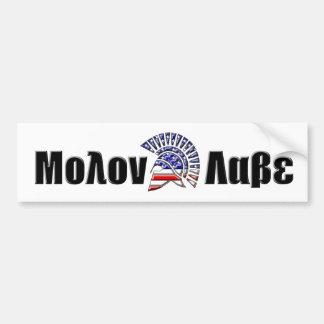 Molon Labe Autoaufkleber