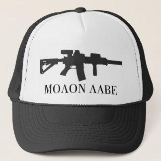 Molon Labe Carbine-Kappe Truckerkappe