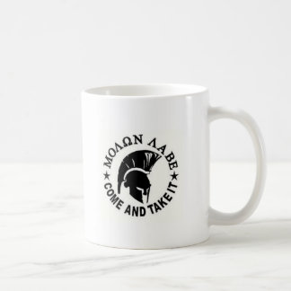 Molon Labe Kaffeetasse