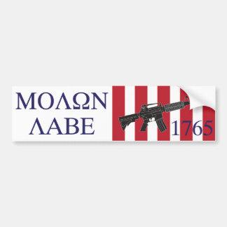 Molon Labe/Söhne des Freiheits-Autoaufklebers Autoaufkleber