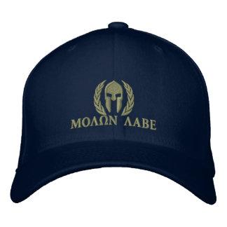 Molon Labe spartanische Bestickte Kappe