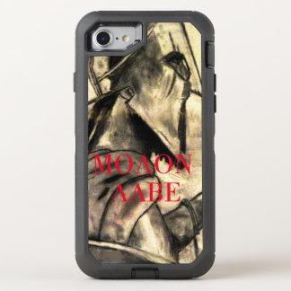 Molon Labe spartanischer Krieger OtterBox Defender iPhone 8/7 Hülle
