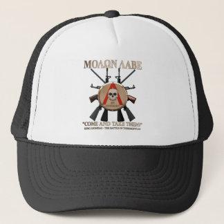 Molon Labe - spartanisches Schild Truckerkappe