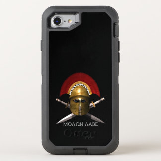 Molon Labe Verteidiger-Fall OtterBox Defender iPhone 8/7 Hülle