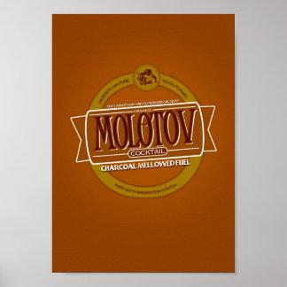Molotowcocktail-Bier Poster