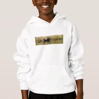 Momma und Baby-Enten-Sweatshirt Hoodie