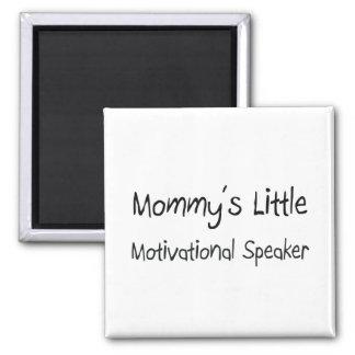 Mommys kleiner motivierend Lautsprecher Quadratischer Magnet