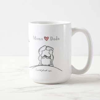 Momo Herz Dodo Kaffeetasse