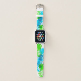 Momona Ananas-hawaiischer tropischer Türkis Apple Watch Armband