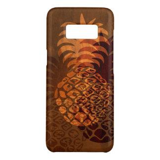 Momona Ananas-hawaiisches tropisches Imitat Koa Case-Mate Samsung Galaxy S8 Hülle