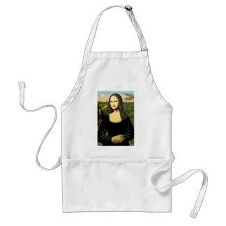 Mona Lisa - addieren Sie ein Haustier Schürze