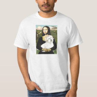 Mona Lisa - Baumwolle de Tulear 7 T-Shirt