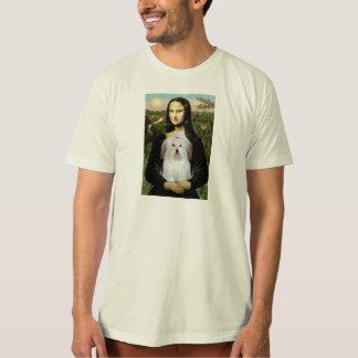 Mona Lisa - Baumwolle De Tulear T-Shirt