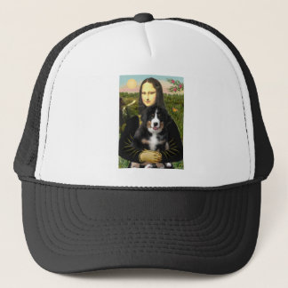 Mona Lisa - Bernese Mt Hundewelpe Truckerkappe