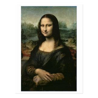 Mona Lisa, c.1503-6 (Öl auf Platte) Postkarte