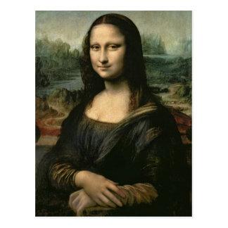 Mona Lisa, c.1503-6 Postkarte