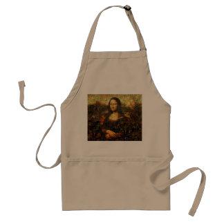 Mona Lisa Collage - Mona Lisa Mosaik - Mona Lisa Schürze