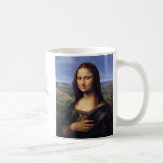 Mona Lisa de Bohol Kaffeetasse