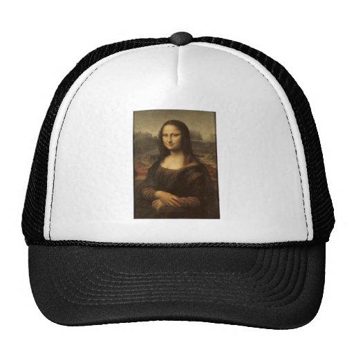 Mona Lisa durch Leonardo da Vinci circa 1505-1513 Trucker Caps