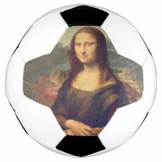 Mona Lisa durch Leonardo da Vinci Fußball