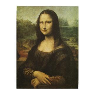 Mona Lisa durch Leonardo da Vinci, Holzdruck