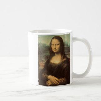 Mona Lisa durch Leonardo da Vinci Kaffeetasse