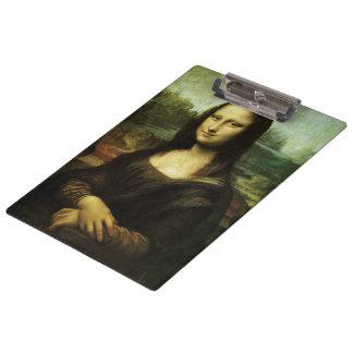 Mona Lisa durch Leonardo da Vinci, Klemmbrett