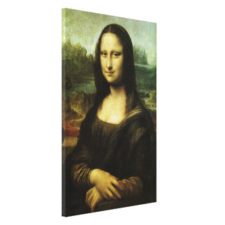 Mona Lisa durch Leonardo da Vinci, Leinwanddruck