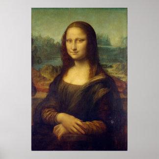 Mona Lisa durch Leonardo da Vinci Poster