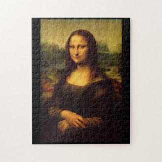Mona Lisa durch Leonardo da Vinci Puzzle