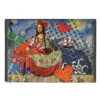 Mona Lisa iPad Mini Etuis
