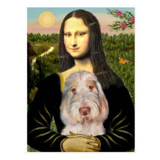 Mona Lisa - Italiener Spinone #12 Postkarte