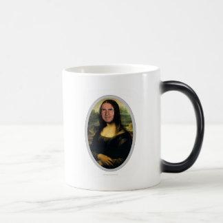 Mona Lisa Karnevals-Ausschnitt-Tasse Verwandlungstasse