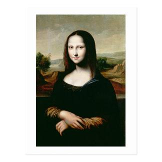 Mona Lisa, Kopie der Malerei von LEONARDO DA Vin Postkarte