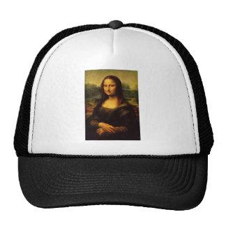 Mona Lisa Leonardo da Vinci Porträt-berühmtes Läch Baseballcaps