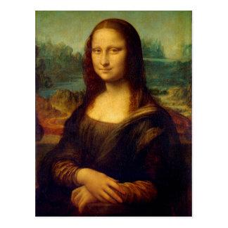 Mona Lisa | Leonardo da Vinci Postkarte
