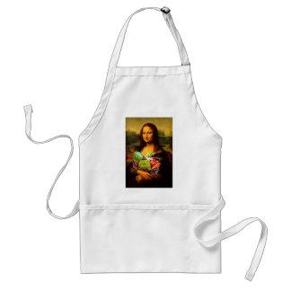 Mona Lisa Liebe-Gemüse Schürze