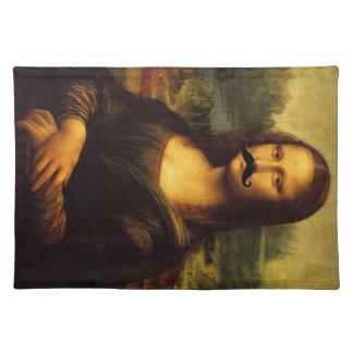Mona Lisa mit dem Schnurrbart Tischset