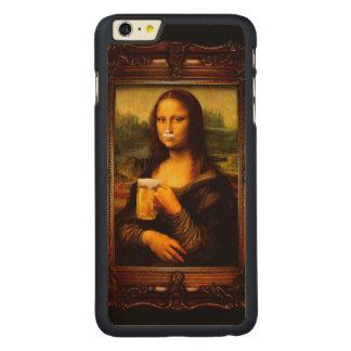 Mona Lisa - Mona Lisa Bier - lustiges Mona Carved® Maple iPhone 6 Plus Hülle